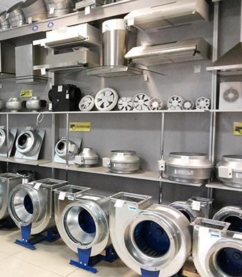 Продажа вентиляционного и климатического оборудования